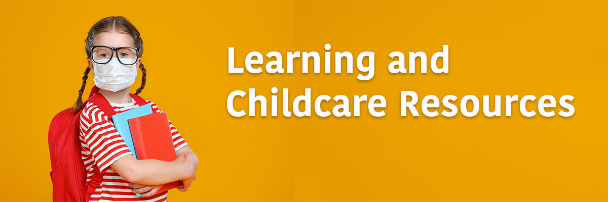 Back to School Childcare and Learning Resources